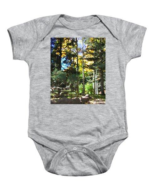 Stone Park Trails Baby Onesie