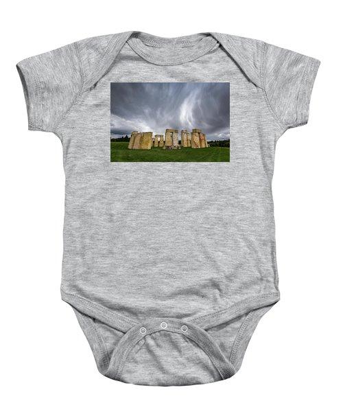 Stonehenge Baby Onesie