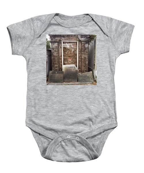 Stones And Markers Baby Onesie