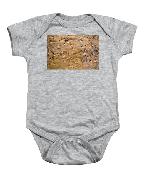 Stones In A Mud Water Wash Baby Onesie