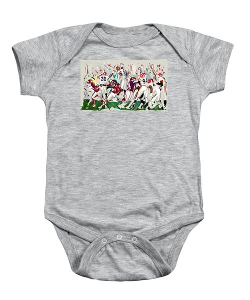 Stopped Baby Onesie