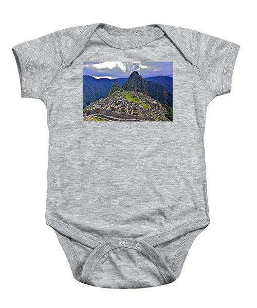 Storm Inbound To Machu Picchu Baby Onesie