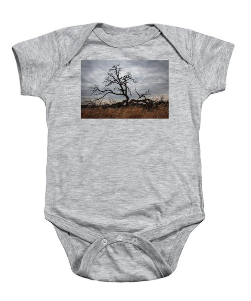 Storms Make Trees Take Deeper Roots  Baby Onesie
