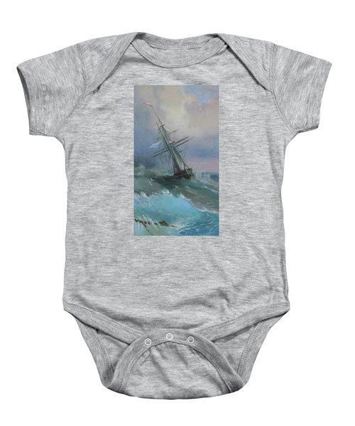 Stormy Sails Baby Onesie