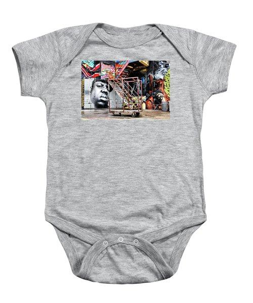 Street Portraiture Baby Onesie