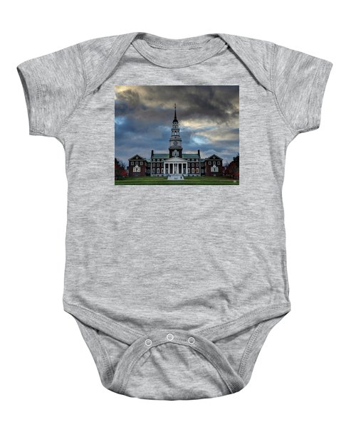 Strength In Turbulence - Cropped Baby Onesie