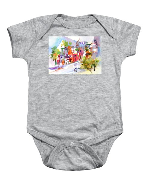 Stroll In Montreal Baby Onesie