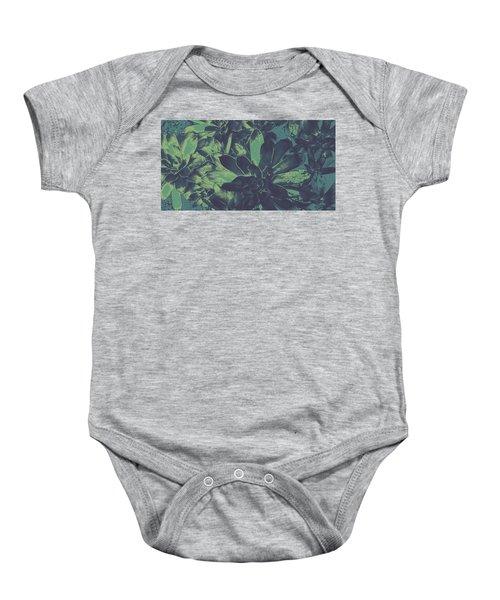 Succulents #2 Baby Onesie