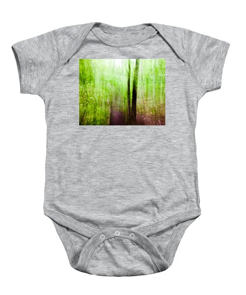 Summer Forest Baby Onesie