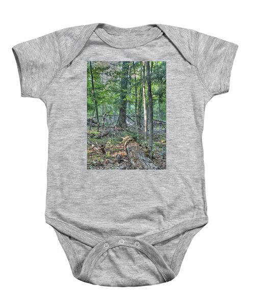 Summer In A Canadian Forest Baby Onesie