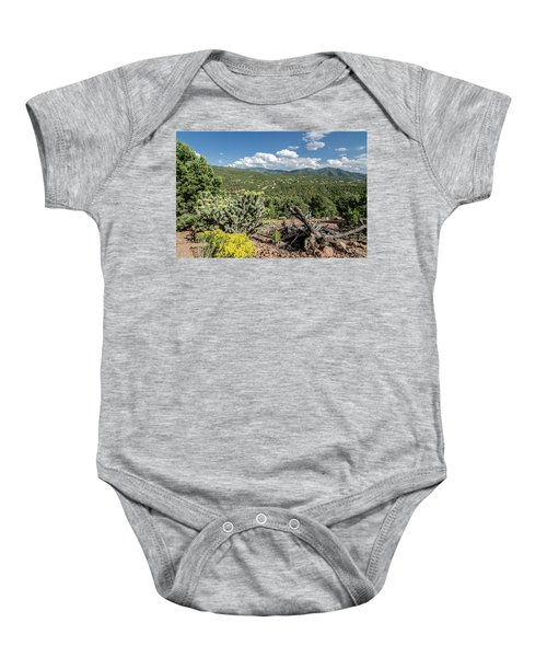 Summer In Santa Fe Baby Onesie