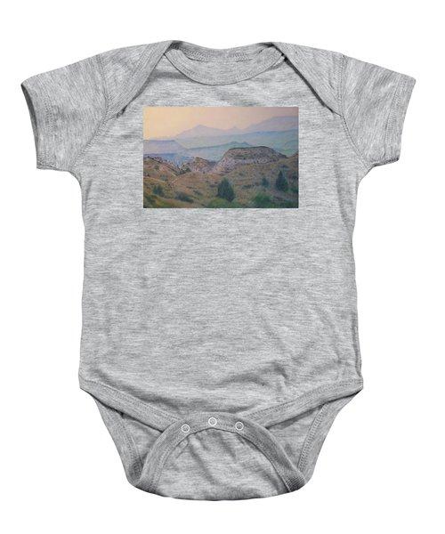 Summer In The Badlands Baby Onesie