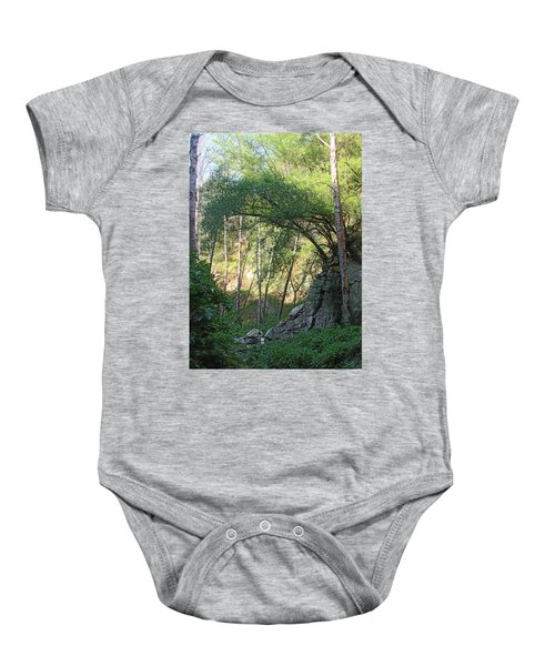 Summer On Bitten Path Baby Onesie
