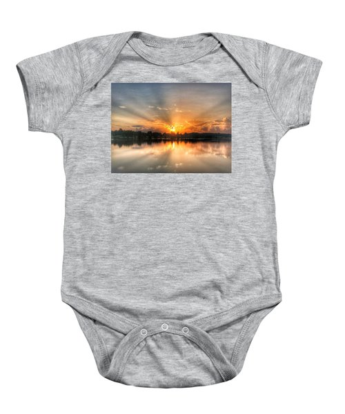 Summer Sunrise 2 - 2019 Baby Onesie