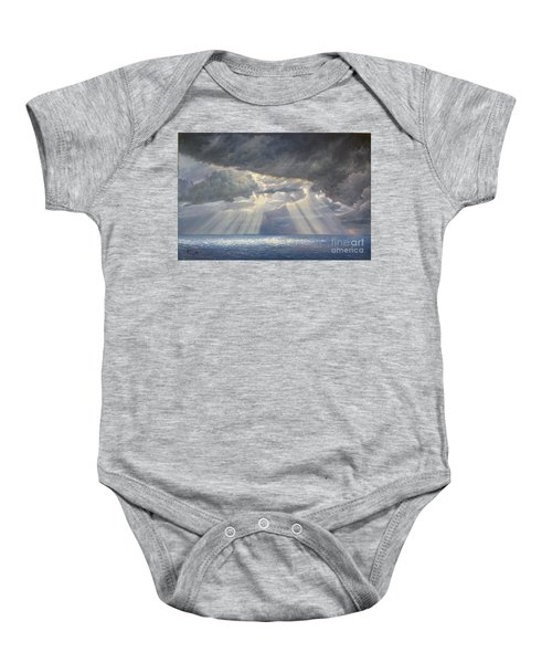 Storm Subsides Baby Onesie
