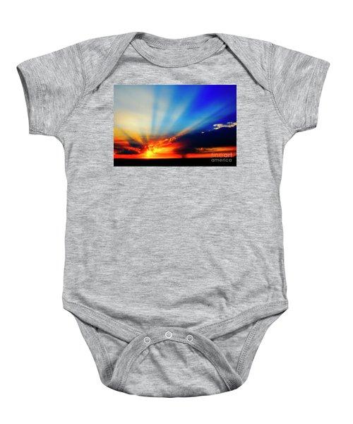 Sun Rays Baby Onesie