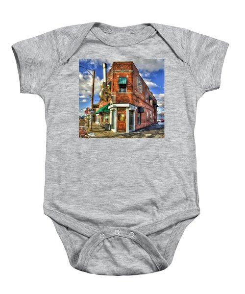 Sun Studio Rock N Roll Birthing Place Memphis Tennessee Art Baby Onesie