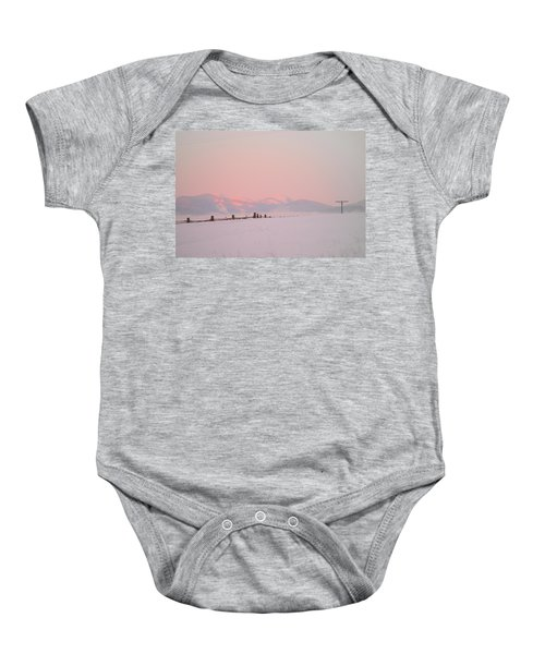 Sun Up On 12th Baby Onesie