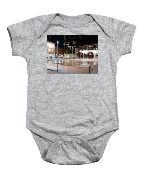 Sundance Square Fort Worth 3 Baby Onesie