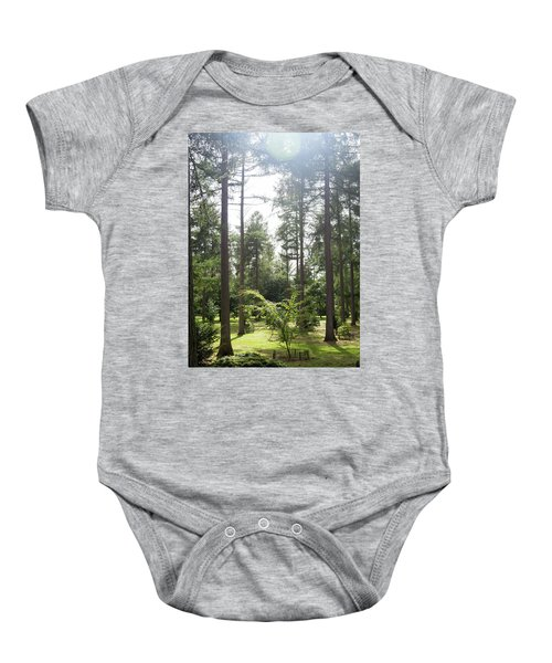 Sunlight Through The Trees Baby Onesie