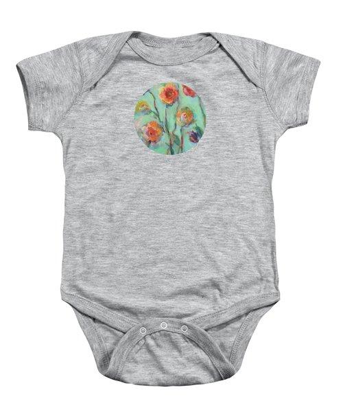 Sunlit Garden Baby Onesie