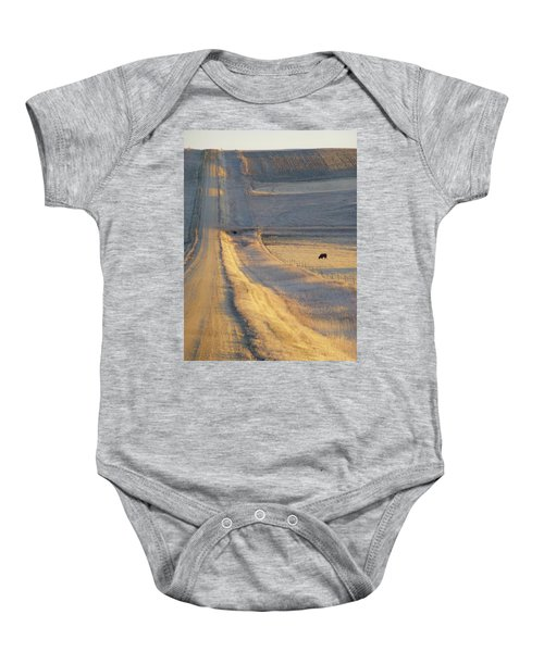 Sunlit Road Baby Onesie
