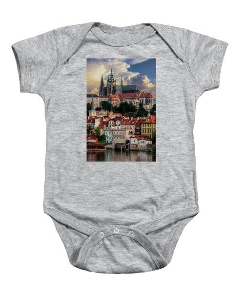 Sunny Afternoon In Prague Baby Onesie
