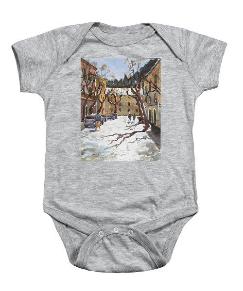 Sunny Street, Valledemossa Baby Onesie
