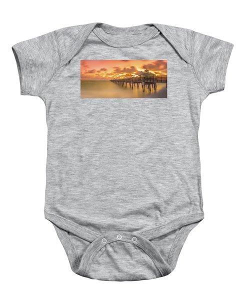 Sunrise At Juno Beach Baby Onesie