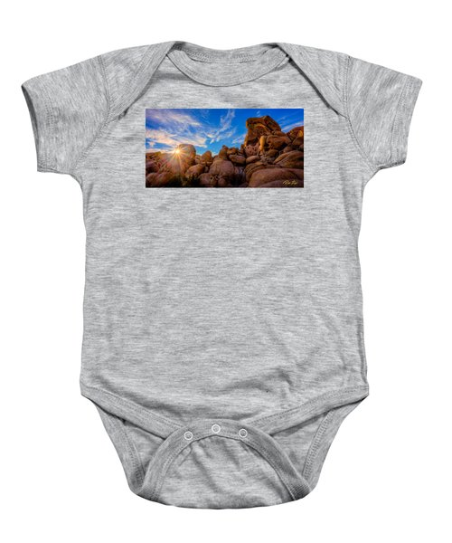 Sunrise At Skull Rock Baby Onesie