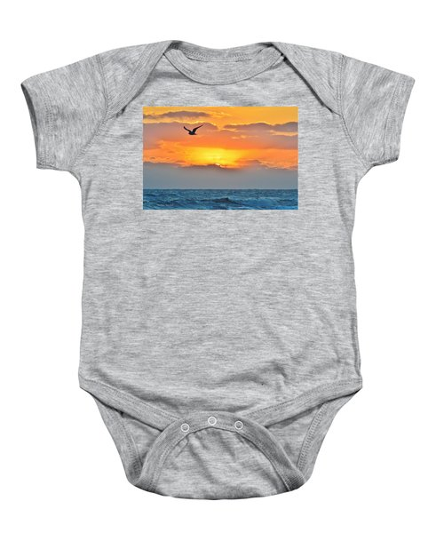 Sunrise In Nags Head Baby Onesie