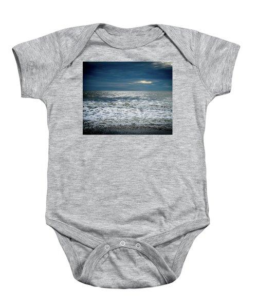 Sunrise-kennebunk Beach Baby Onesie