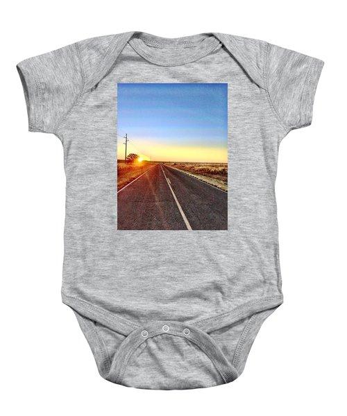 Sunrise Road Baby Onesie
