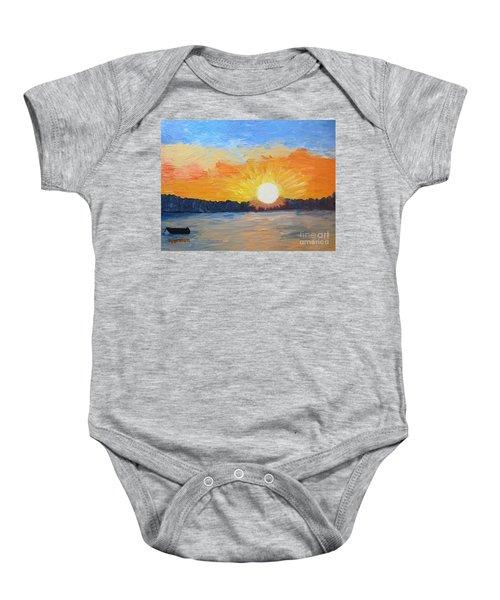 Sunrise Sensation Baby Onesie