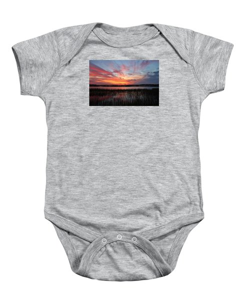 Sunset And Reflections 2 Baby Onesie