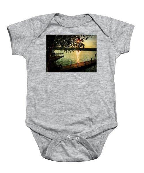 Sunset Bay Baby Onesie
