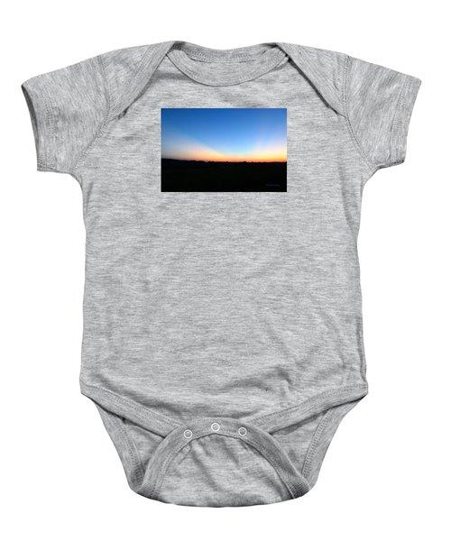 Sunset Blue Baby Onesie
