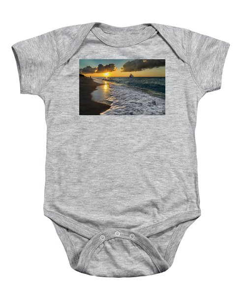 Sunset Boracay Baby Onesie