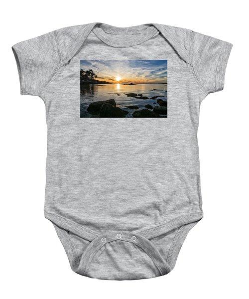 Sunset Cove Gloucester Baby Onesie