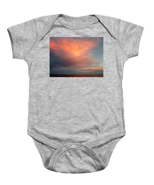 Sunset Moonrise Baby Onesie