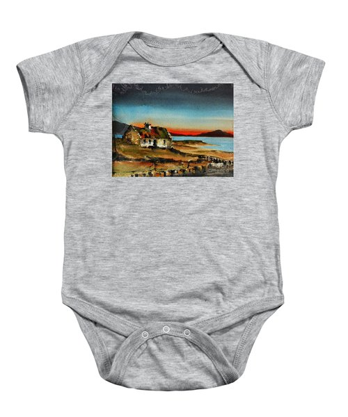 F 707 Inishfree Bay Near Ardra, Donegal.. Baby Onesie