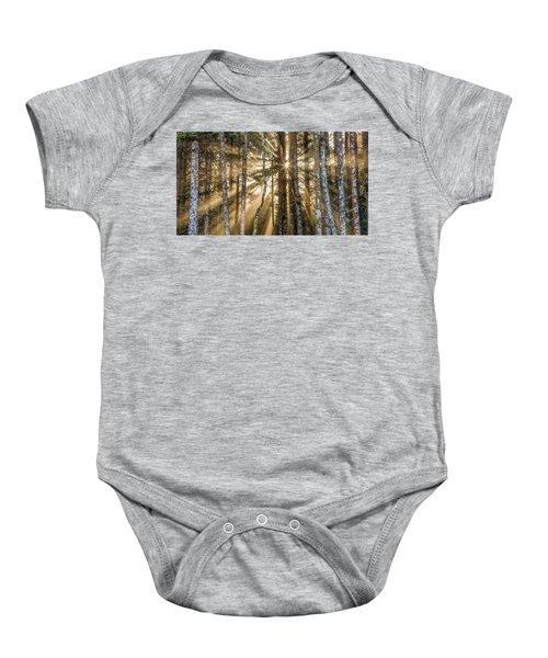 Sunshine Forest Baby Onesie