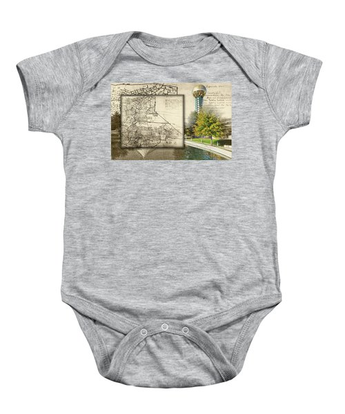 Sunsphere Mapped Baby Onesie