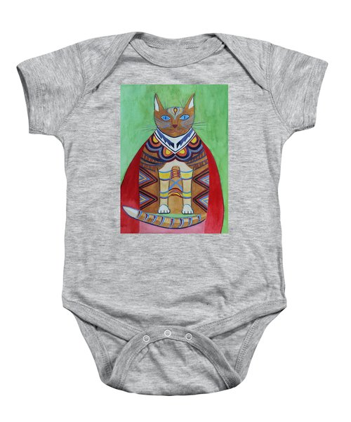 Super Cat Baby Onesie