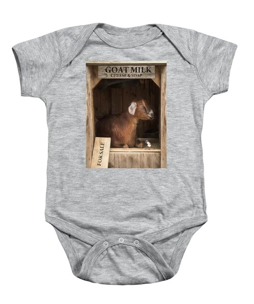 Support Your Local Farmer Baby Onesie