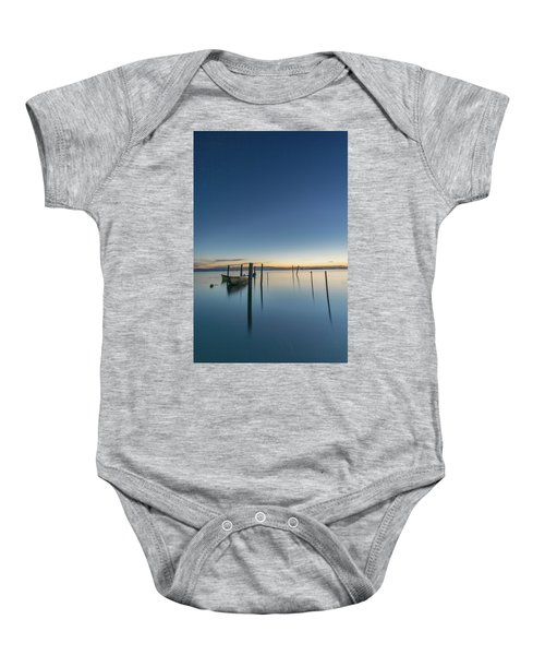 Sure Is Quiet Our Here Baby Onesie