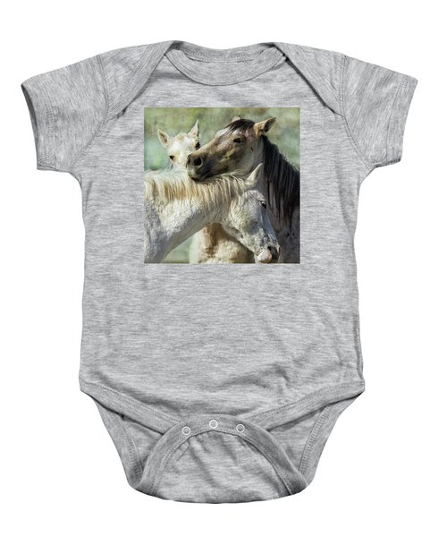 Surrounded By Love Baby Onesie