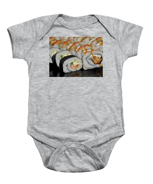 Sushi Rolls From Home Baby Onesie