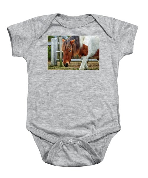 Susi Sole N2bhs-m Says Don't Fence Me In Baby Onesie