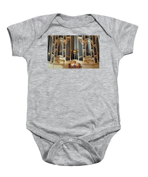 Sydney Town Hall Organ Baby Onesie